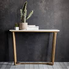 marble sofa table gatsby marble console table white u0026 gold console u0026 hall tables