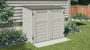 Suncast 97 Gal Resin Outdoor Outdoor Storage Cabinets Cabinet Ideas To Build