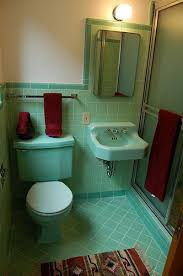 blue and green bathroom ideas 41 best vintage plumbing images on retro bathrooms