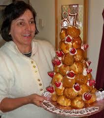 wedding cake with profiteroles profiteroles wedding cake