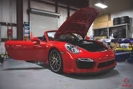 porsche wrapped vinyl wrap shine auto