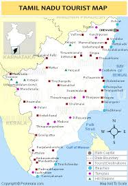 tamil nadu map tamilnadu tourist map tourist destinations in tamilnadu