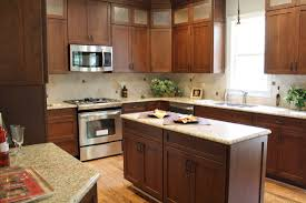 Kitchen Cabinets At Menards Cherry With Custom Stain