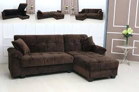 brown microfiber sofa bed brown sectional couch ecda2015 com