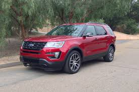 Ford Explorer Headlights - 2016 ford explorer first drive motor trend