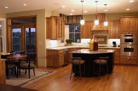 kitchen ideas with stainless steel appliances oak kitchen cabinets with island eclectic eat in kitchen