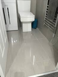 light grey floor tile bathroom best bathroom decoration