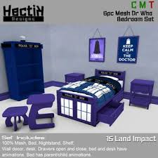 dr who bedroom second life marketplace hd mesh 6pc dr who bedroom set boxed