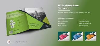 two fold brochure template psd bi fold brochure designs template