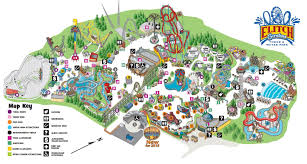 Colorado Tourism Map by Revesco Properties Elitch Gardens Theme And Water Park