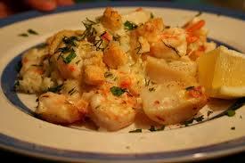 casserole de fruits de mer