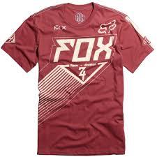 fox motocross apparel apparel fox racing casual shirts men short sleeve racer premium