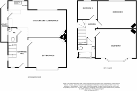 lynnewood hall floor plan 3 bedroom semi detached house for sale in street road glastonbury