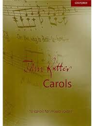 rutter carols piano accompaniment sheet sheet