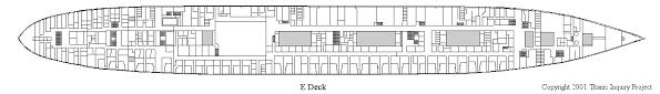 titanic floor plan titanic inquiry project deckplans a deck