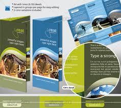 tri fold school brochure template 4 page brochure template fieldstation co