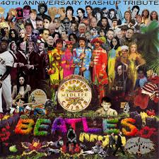 sargeant peppers album cover mashuptown sgt pepper s mid crisis