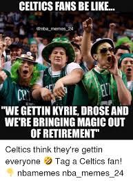 Celtics Memes - 25 best memes about celtics fan celtics fan memes