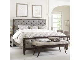 Upholstered Footboard Thomasville Harlowe U0026 Finch Mirabeau Queen Sized Bed With