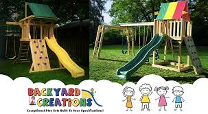 Playsets Outdoor Outdoor Playsets Backyard Creations Wood Playsets