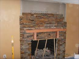 interiors fabulous stone fireplace ideas faux stone for