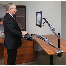 Ergotron Sit Stand by Ergotron Lx Desk Mount Lcd Arm For Workfit D Sit Stand Desk Best