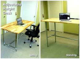 sublime standing desk ikea photos adjustable sit to stand up crank