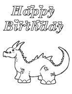 free printable coloring birthday card free online kids coloring