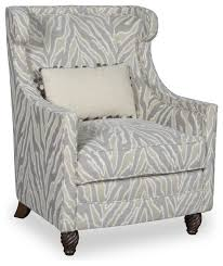 Ivory Accent Chair Amanda Ivory Accent Chair With Kidney Pillow Traditional