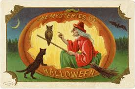 vintage halloween witch download the graphics fairy