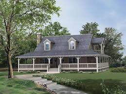home plans with porch architectures single level house plans with wrap around porches