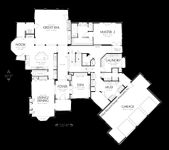 House Plans With Angled Garage Mascord House Plan 2449 The Hallsville