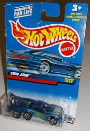 2000 wheels blue tow jam 5sps 211 diecast toy car ebay