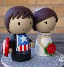 marvel cake toppers captain america cinderella wedding cake topper comic
