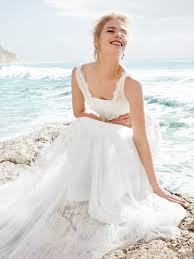 romantic and beautiful beach wedding dress ideas 2014 be modish