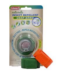amazon com coleman deet free naturals snap band insect repellent