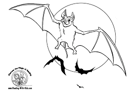 bat coloring pages 2 coloring pages