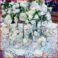 Wedding Centerpiece Stands by Acrylic Mirrored Pedestal Centerpiece Stands Buy Bling Wedding
