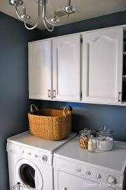 Laundry Cabinets Home Depot Restore Laundry Room Makeover Desert Willow Lane