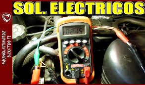 como probar solenoides electricos actuadores en el auto youtube