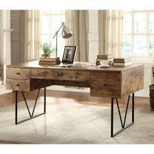 V Shaped Desk Coaster Furniture Writing Desk With V Shaped Legs Hayneedle