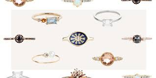 18 most unique engagement rings of 2017 affordable alternative