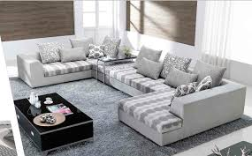 Fabric Modern Sofa Furniture Get The Comfy But Lovely Furniture Through Modern