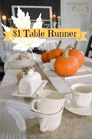 what is a table runner diy hand painted thanksgiving table runner thankful at home a with