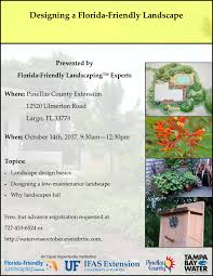 Pinellas Zip Code Map by Designing A Florida Friendly Landscape Water Wise Landscaping