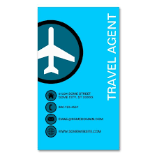Travel agent business cards 2182 best travel business card