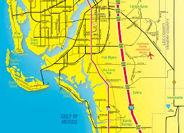 Fort Myers Florida Map by Florida Maps Southwest Florida Travel