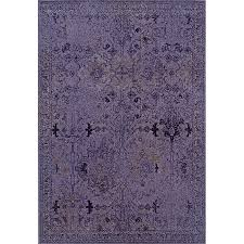 Purple And Grey Area Rugs Dyed Distressed Traditional Purple Grey Area Rug 9 10 X 12
