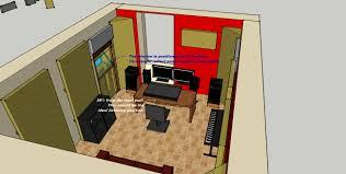 astounding design home recording studio plans brilliant for your