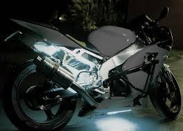 White Motorcycle Led Light Kit Illumimoto
